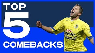 TOP 5 | Memorabele Comebacks
