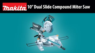 "MAKITA 10"" Dual Slide Compound Miter Saw - Thumbnail"