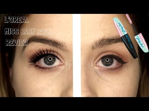 L'OREAL MISS BABY ROLL MASCARA REVIEW  | ELIZABETH HAMILTON