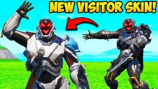 *NEW* VISITOR SKIN IS AMAZING!! Fortnite Funny Fails and WTF Moments! #706