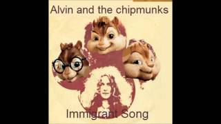 Alvin and the chipmunks - Immigrant Song