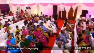Wedding Engagement In Heritage Madurai (Indoor Shots Only) - Acharya Dronography (Helicam Services)