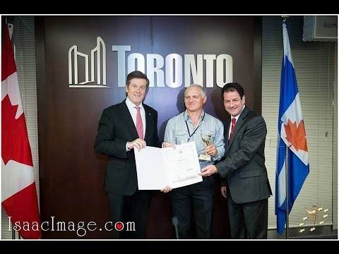 Торонто. Встреча мэра с лауреатами премии ПРЕСТИЖ 2014