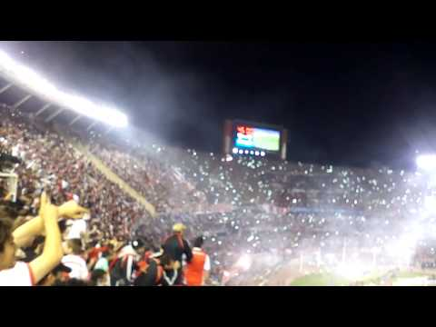"""""""River vs atl. Nacional - festejo river campeon"""" Barra: Los Borrachos del Tablón • Club: River Plate"""