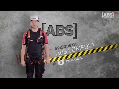 Brève vidéo explicative sur l'utilisation correcte du harnais de l'EPI antichute