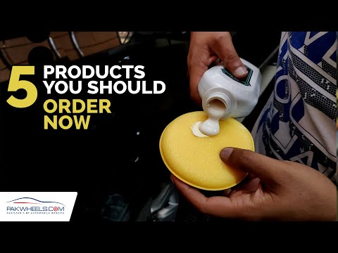 Five Must-Have Products | PakWheels Auto Store