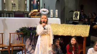 preview picture of video 'Jasełka Willesden Green 15 Grudzień 2013'