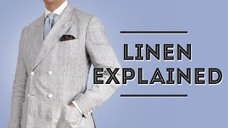 Linen Explained - Mens Summer Fabric Guide