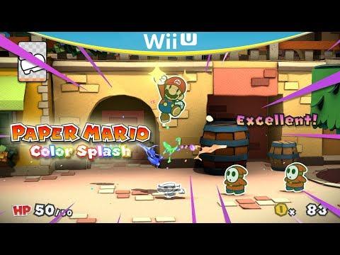 Paper Mario Color Splash Guide| Cemu 1 12 2 - смотреть