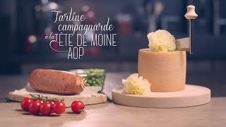 Tartines campagnardes à la Tête de Moine AOP Video