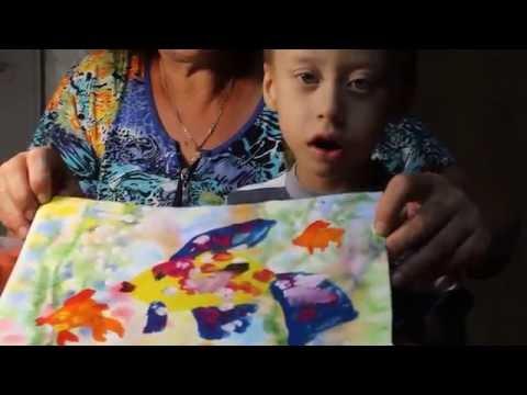 Золотая рыбка. Как нарисовать рыбку  гуашью поэтапно.
