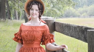 Weekly Sewing Vlog : 1840s Dresses Galore!