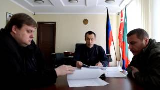 Ким С.Ф. о работе комиссии по проведению служебного расследования