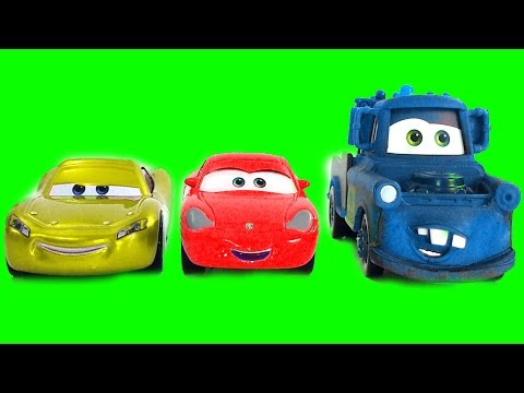 Best Learning Colors Video For Children - Disney Cars 3 Color Mixup Finger Family