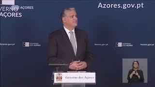 13/03/2020: Governo dos Açores declara Estado de Contingência para o Covid-19