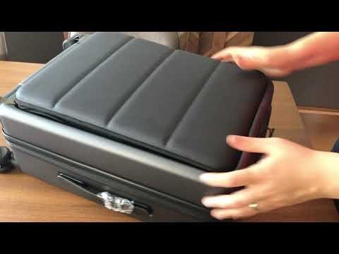 Xiaomi 90FUN 20inch Business Travel Suitcase Unboxing & Overview