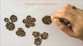 embellishment 5 : learn quick and easy gulf roses and leaf