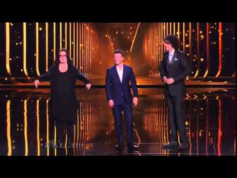America's Got Talent 2014 Mat Franco & Rosie O'Donnell With Judge Howard Stern Grand Final (видео)