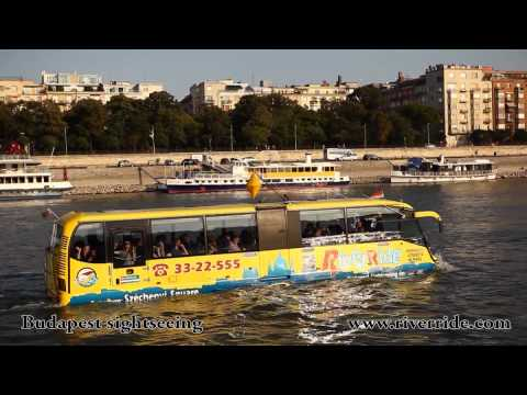 Plutajući autobus - turistička atrakcija u Budimpešti
