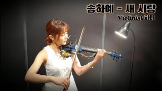 [하냐] 새사랑 - 송하예(Violin Cover)