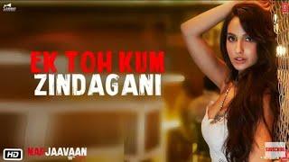 Ek Toh Kum Zindagani (Full Audio Song   - YouTube