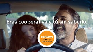 Supermercados Consum Responsabilidad Social Corporativa- Juntos es Cooperativa - Consum anuncio