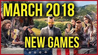 New games coming in March 2018 [gamepressure.com]