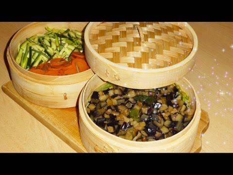 Cestello in Bambù - Cottura al Vapore