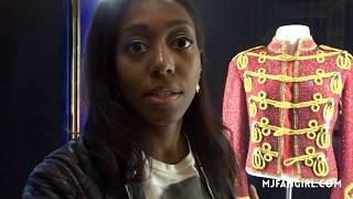 WHOA! Seeing Michael Jackson's Jacket and trying the new MJ Slot Machine | MJFANGIRL |