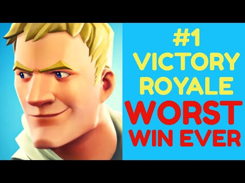 Fortnite: Victory Royale #1 - The Inhuman One
