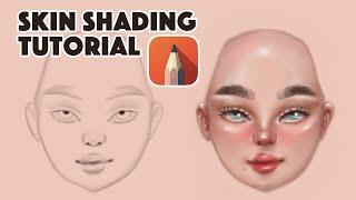Skin Shading Tutorial in Autodesk Sketchbook   Sketchbook Tutorial for Beginners