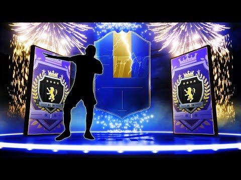 ROTW TOTS GUARANTEED PACK & ELITE 1 SQUAD BATTLES REWARDS! #FIFA19 ULTIMATE TEAM