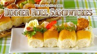Dinner Roll Sandwiches (Tear 'n' Share Bread) ちぎりパンサンドの作り方 – OCHIKERON – CREATE EAT HAPPY