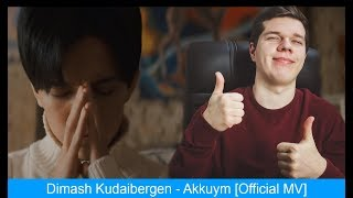React to Dimash  - Akkuym [Official MV] (ENG SUB)