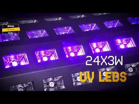 """Šviesos efektas """"BeamZ BUV463"""" LED UV spindulių kaina ir informacija   Dekoracijos šventėms   pigu.lt"""