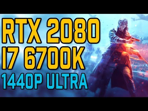 Battlefield V RTX 2080 & 9700K 5GHz [ Low / Medium / High