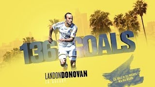Landon Donovans 136 Treffer in der MLS