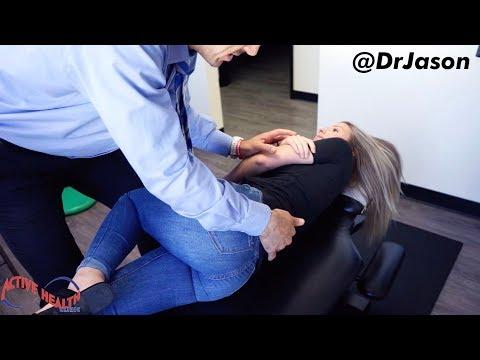 Dr. Jason - FASCINATING 25 Min ASMR Chiropractic Compilation