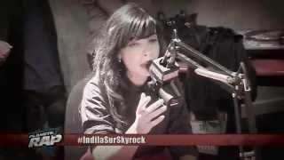 Indila   Medley   Skyrock  Version Acoustique   Live