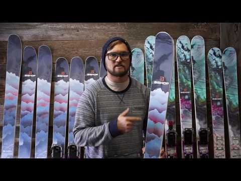The 2019 Chedi all mountain powder telemark ski