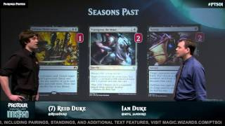 Pro Tour Shadows over Innistrad Deck Tech: Seasons Past Control with Reid Duke