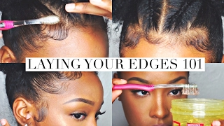 Laying Your Edges 101 | FabulousBre