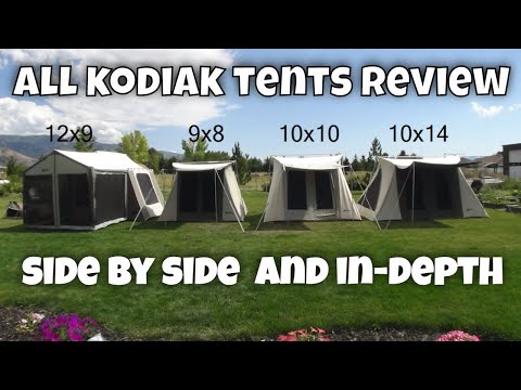 Full Kodiak Canvas Tent Line Reviewed