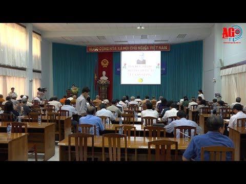 Ủy ban MTTQ Việt Nam tỉnh họp mặt kỷ niệm 130 năm ngày sinh Chủ tịch Tôn Đức Thắng