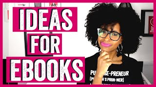 IDEAS FOR EBOOKS | HOW TO WRITE AN EBOOK AND MAKE MONEY |   CHRISTIAN ENTREPRENEUR | AUTHORTUBE