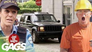 Best of Car Pranks Vol. 3 | Just For Laughs Compilation