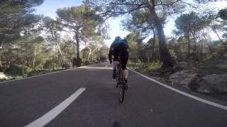 preview picture of video 'Descending Coll de sa Batalla'