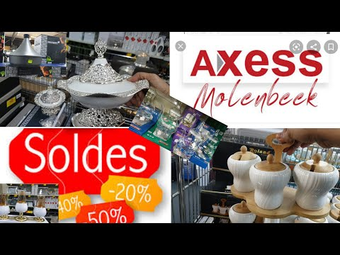 تخفيظات جد جد مهمة في المحل التركي🇹🇷 Axess في بروكسيل🇧🇪لكل مايتعلق ببيتك سيدتي😂 داك الشي كيحمق😇