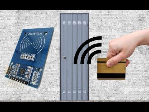 Apriporta con tessera magnetica - sensore RFID (Arduino)