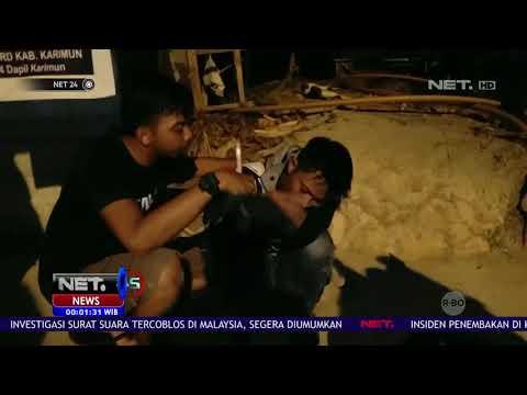 Warga Tangkap Bandar Narkoba di Batam NET24